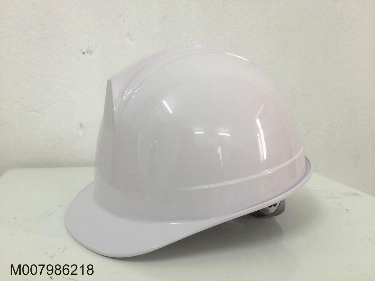 Mũ bảo hộ Hàn Quốc STOP màu trắng