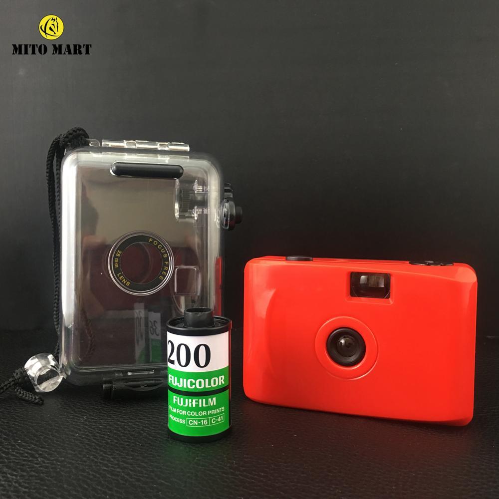 Hình ảnh [Mã giảm giá MAYANH20] Máy ảnh du lịch mini giá rẻ tặng film