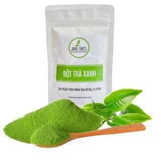 Bột trà xanh dùng cho spa 1kg thumbnail