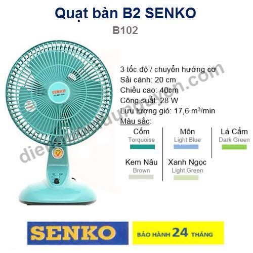 Quạt Ban B2 Mini B102 Nguyên