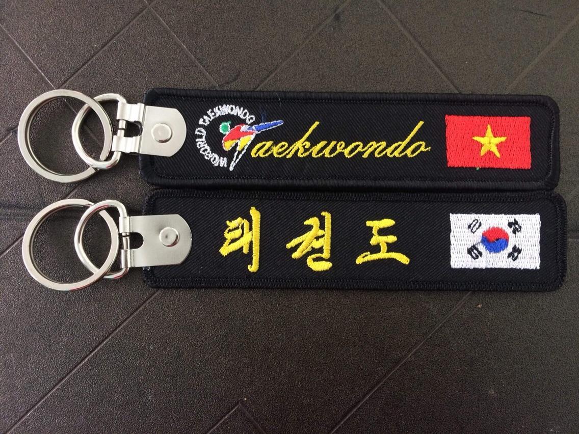 Hình ảnh Móc khoá thêu Taekwondo