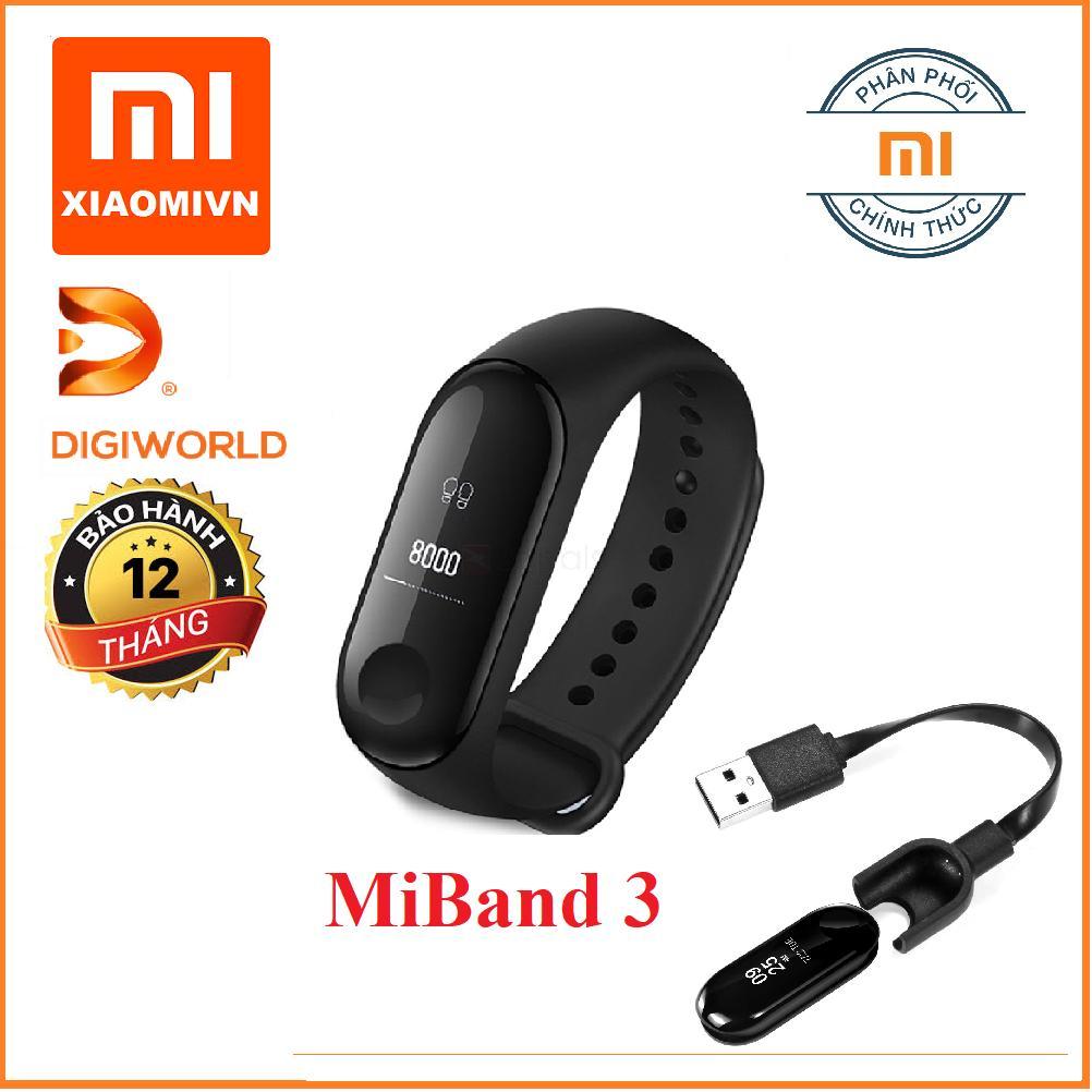 Hình ảnh Vòng đeo tay Xiaomi MIBAND 3 - Hàng DiGiWorld