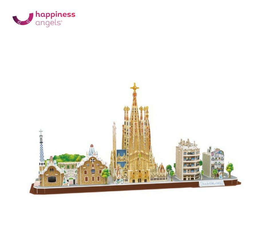 Hình ảnh Mô hình giấy Thành phố Barcelona MC256h