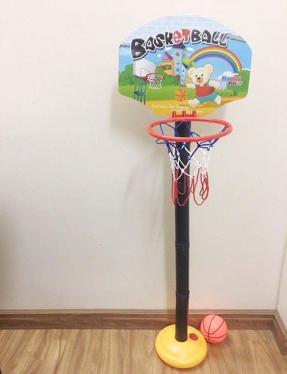 Kết quả hình ảnh cho Bộ Đồ Chơi Bóng Rổ Basketball woteng toys