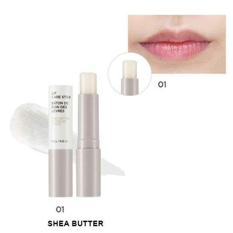 Son Dưỡng Môi Chiết Xuất Từ Hạt Bơ Mỡ The Face Shop Lip Care Stick #Shea Butter