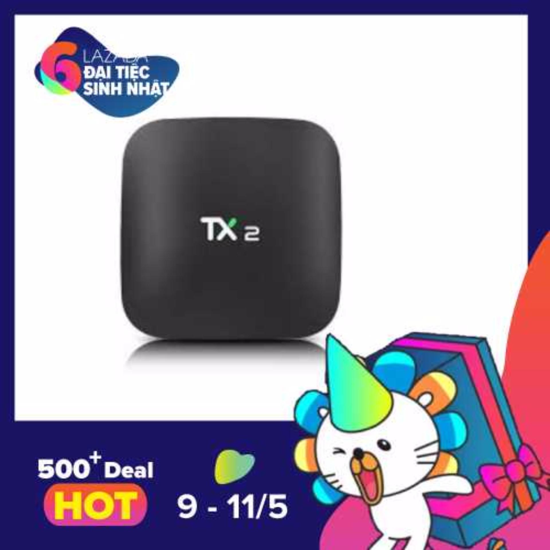 Bán Androi Ti Vi Box Tx2 Ram 2G Tv Box Android 6 Support 4K X 2K Bluetooth 2 4Ghz Wifi Intl Có Thương Hiệu Nguyên