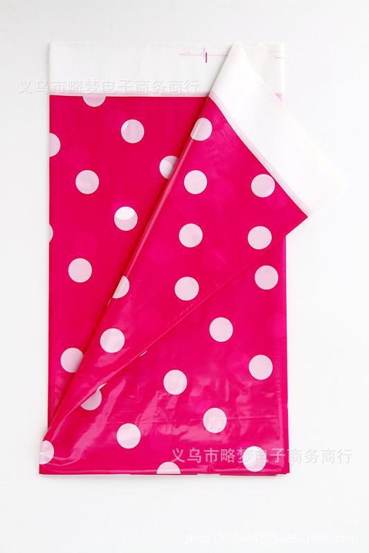 Hình ảnh Khăn trải bàn 1,8m x 1,1m trang trí sinh nhật (màu hồng)
