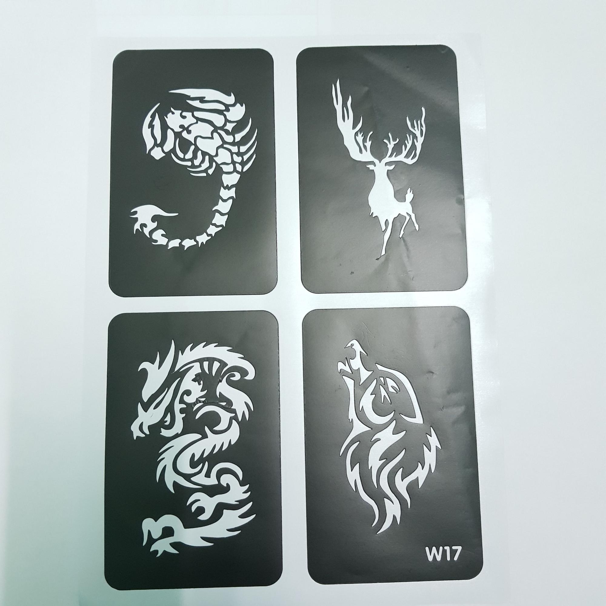 Khuôn vẽ henn ms w17