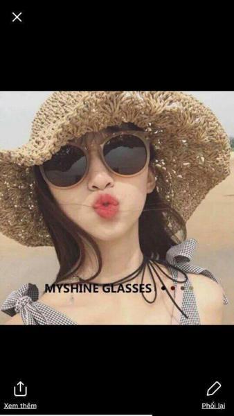 Giá bán Kính râm đi biển cho nữ chống tia UV thời trang loại 1