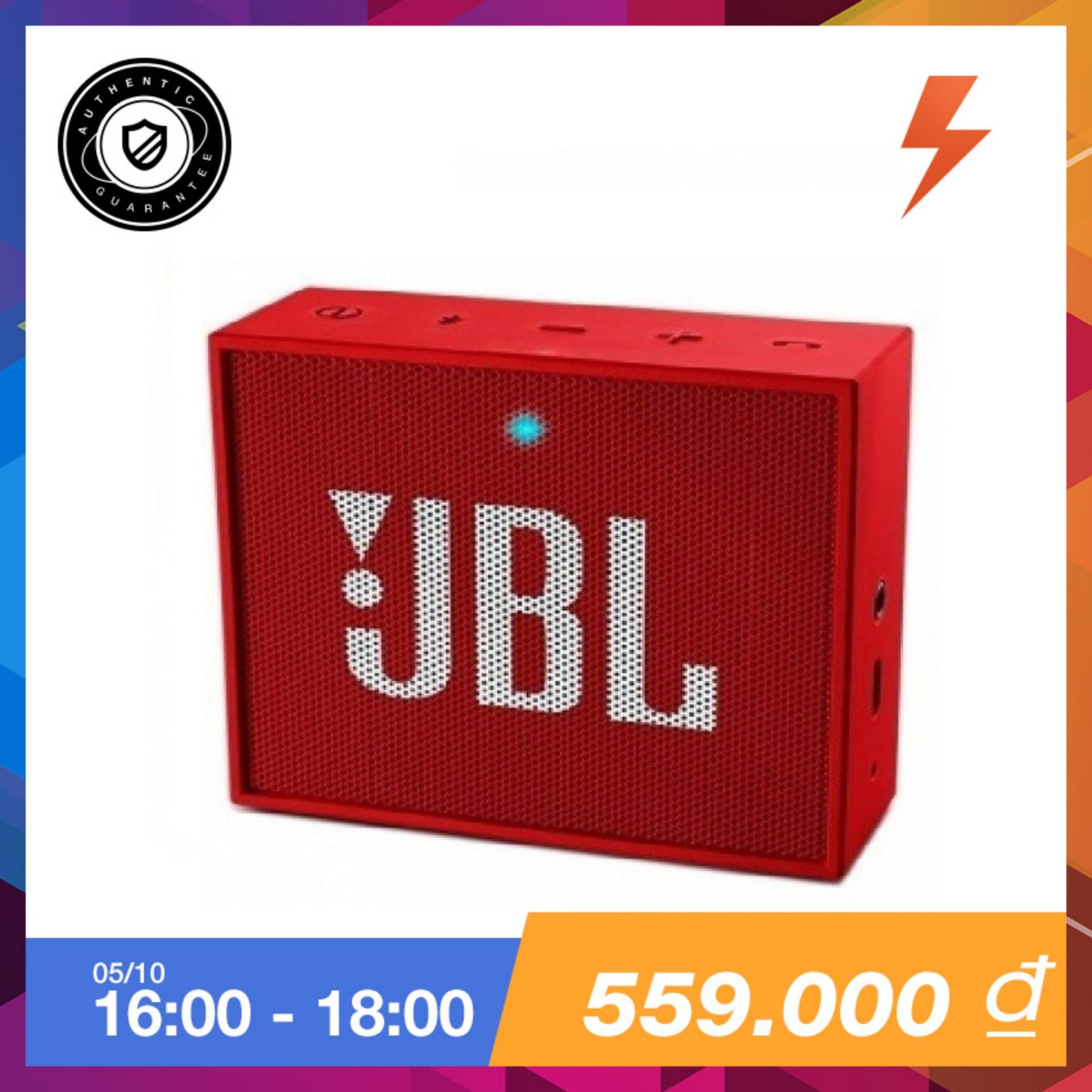 Bán Loa Di Động Bluetooth Jbl Go Đỏ Hang Phan Phối Chinh Thức Có Thương Hiệu
