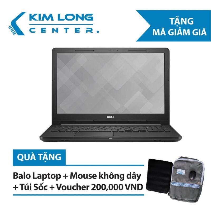 Laptop Dell Vostro V3578 Core i7-8550U/Free Dos (15.6 inch) - Black - Hàng Nhập Khẩu