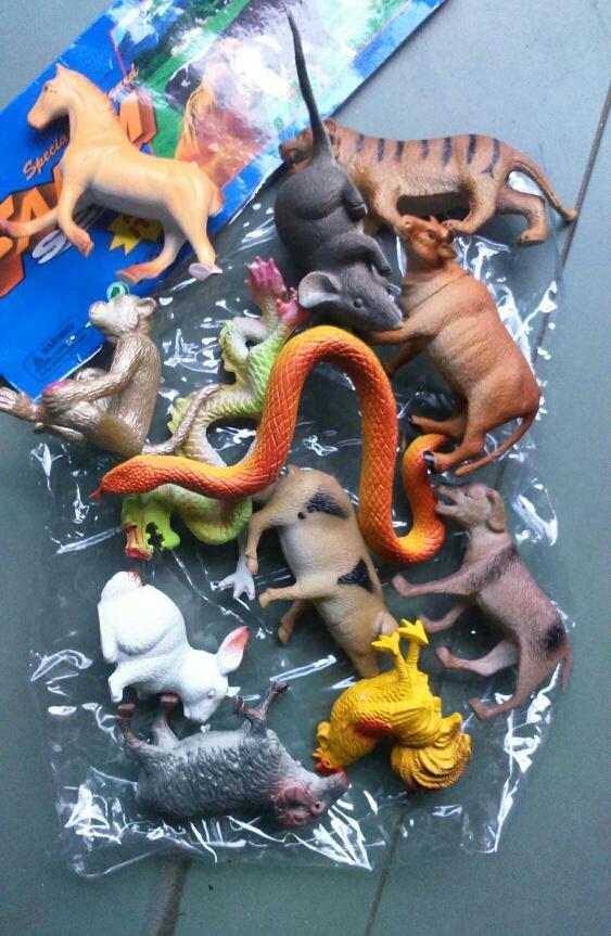 Hình ảnh túi thú 12 con giáp