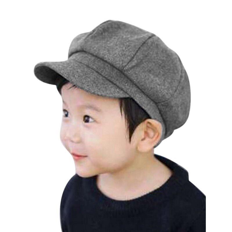 Hình ảnh Mũ beret bánh tiêu cho bé chất liệu cực đẹp 2-8 tuổi