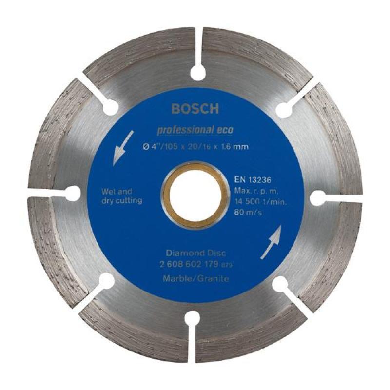 Đĩa cắt kim cương 105x20/16mm granite, 2608603728, Bosch