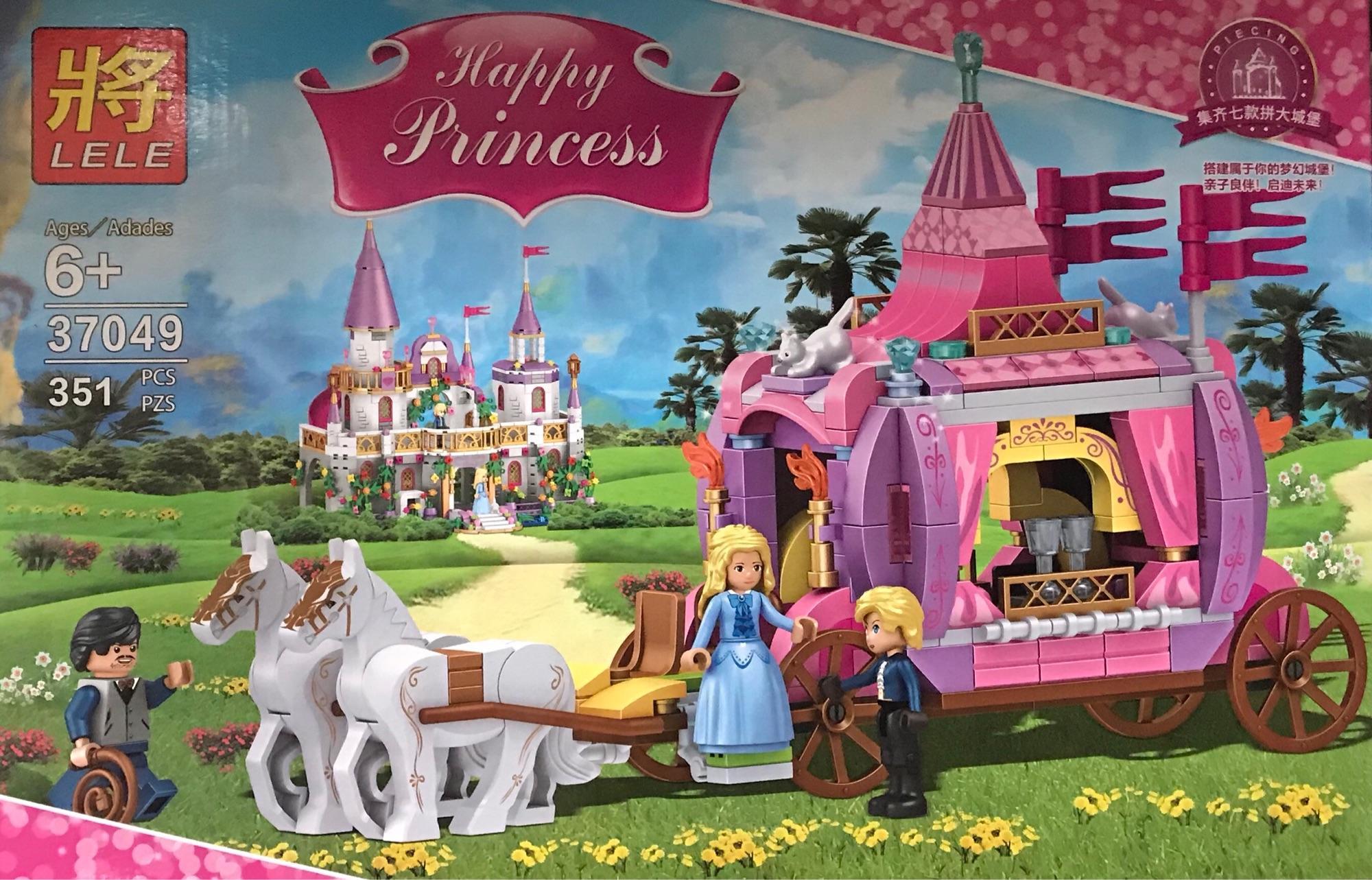 Hình ảnh Lắp ráp xe ngựa lâu đài công chúa