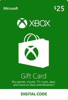 Flash Sale XBOX LIVE GIFT CARD - 25 USD (USA) kèm mã giảm giá - Giá chỉ  447.930đ