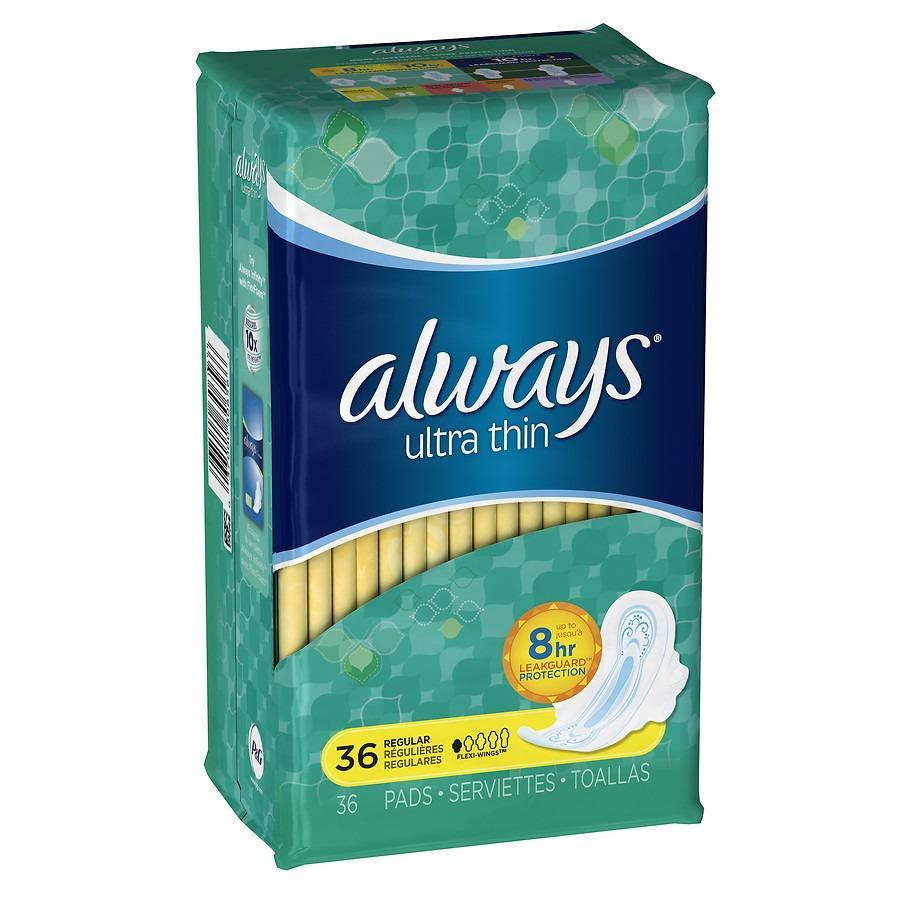 Ôn Tập Cửa Hàng Băng Vệ Sinh Always Ultra Thin 36 Miếng Của Mỹ Trực Tuyến