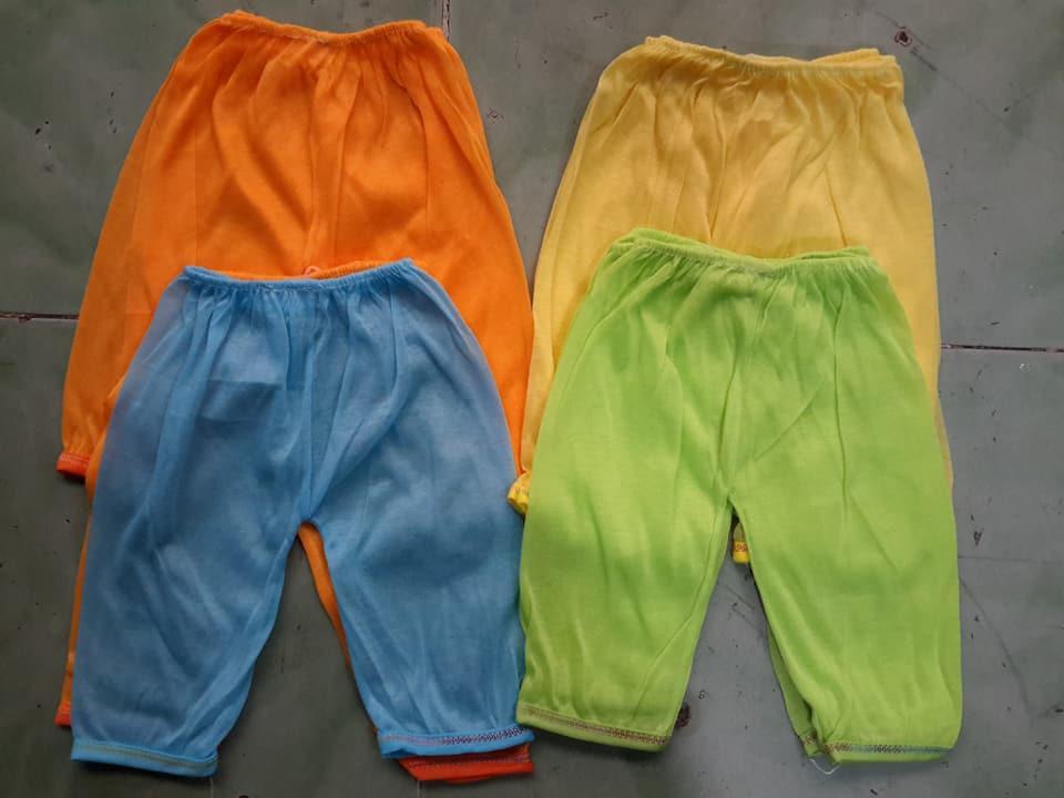 Hình ảnh combo 10 quần cotton dài cho bé