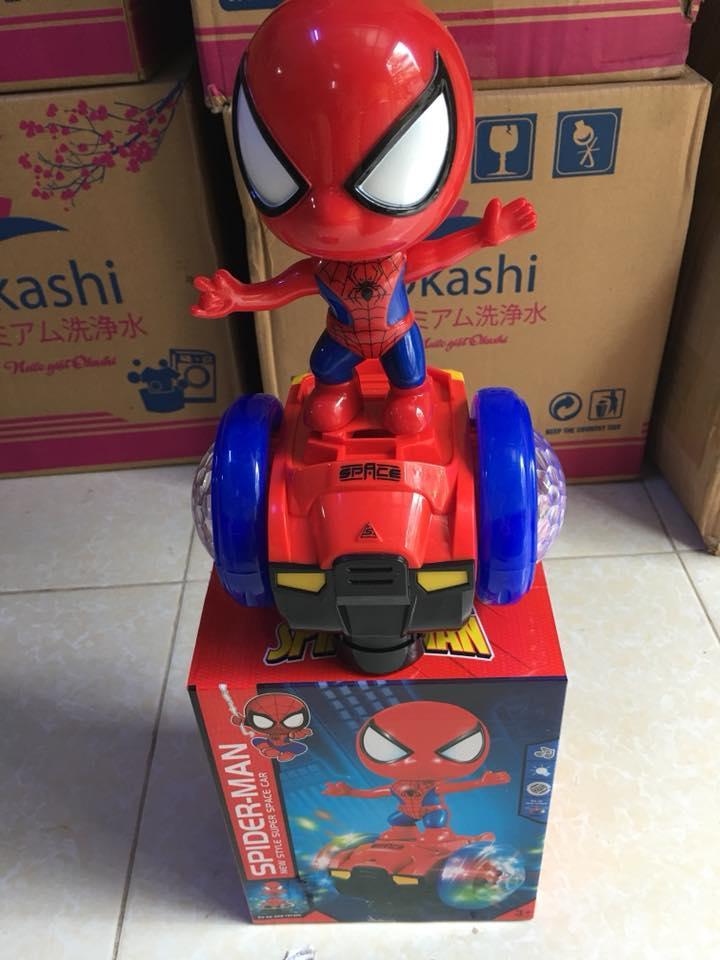 Hình ảnh Đồ chơi Siêu nhân nhện nhào lộn