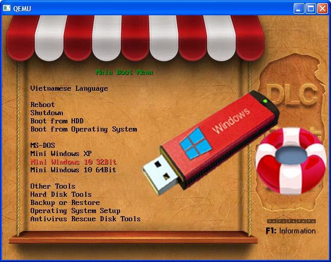 USB boot - Chuyên gia cứu hộ đa năng phiên bản mới nhất