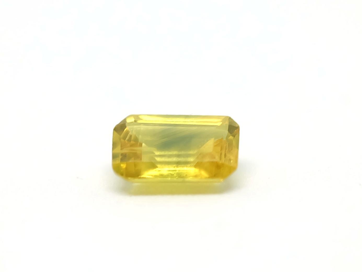 Viên đá Sapphire Vàng Thiên Nhiên Kiểm định Pnj 99392 By Premiershop.