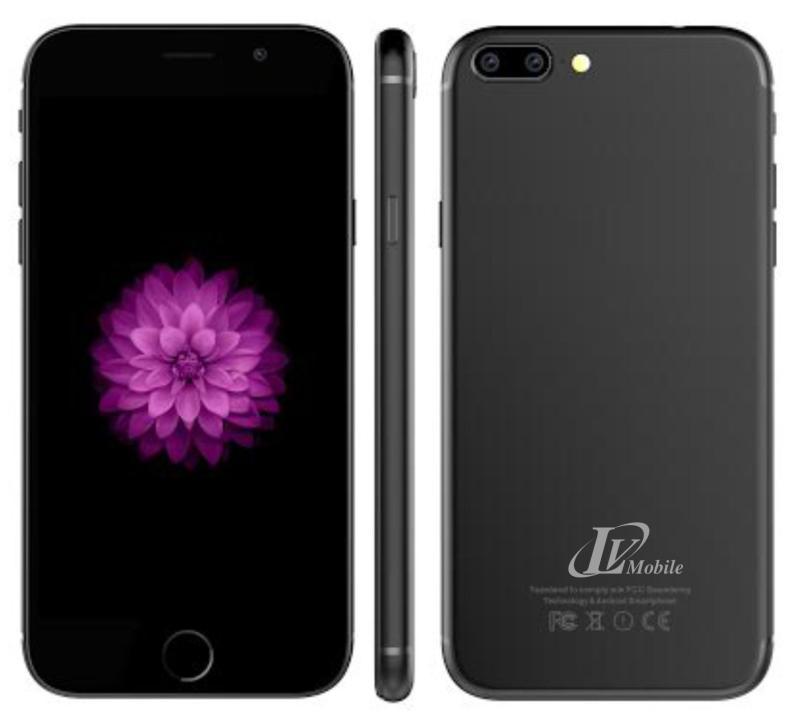 [Tặng kèm ốp lưng] Điện Thoại LV6+ - 2 SIM - Ram 1GB - Kiểu dáng Iphone