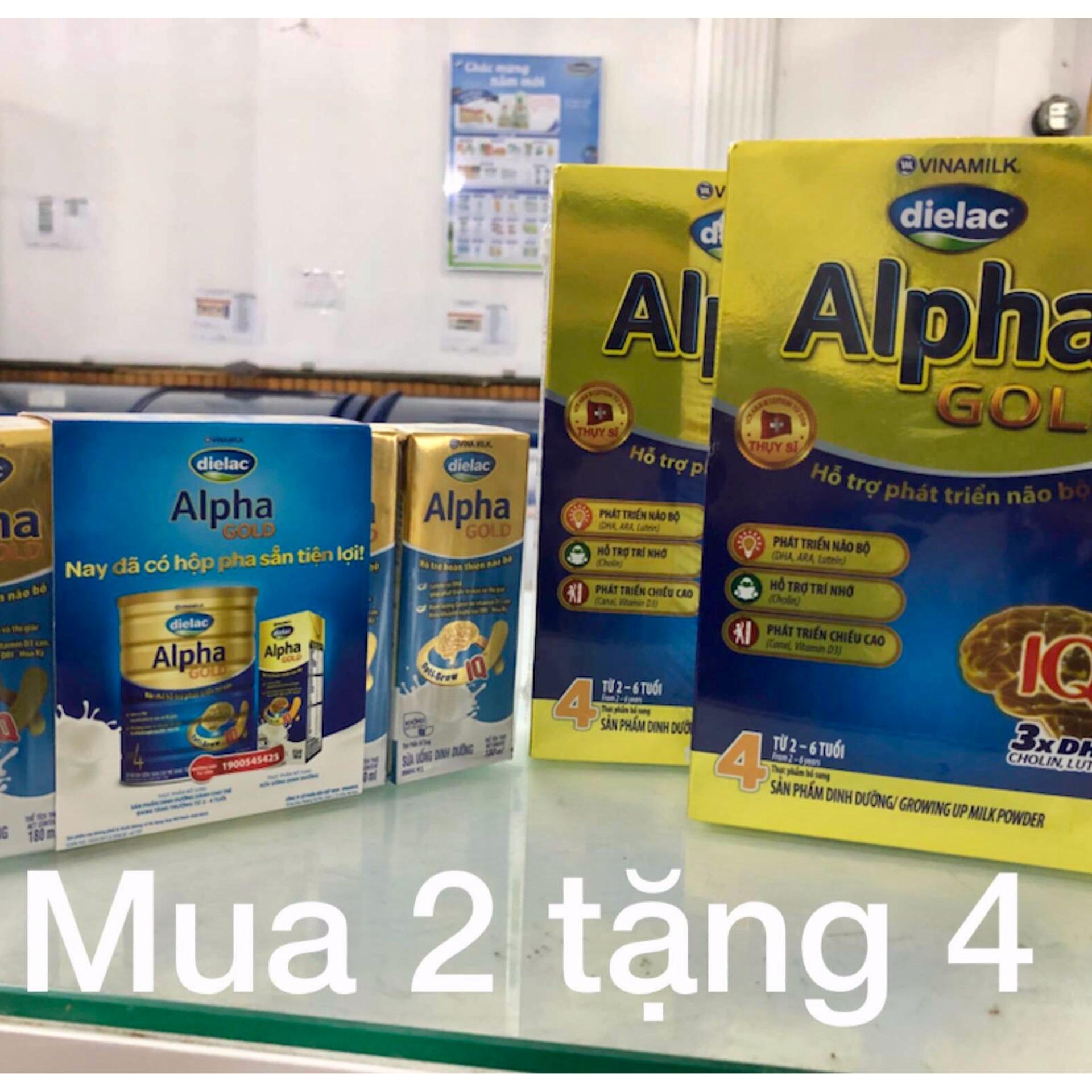 Ôn Tập Trên Combo 2 Hop Sữa Bột Vinamilk Dielac Alpha Gold Step 4 Hộp Giấy 400G Danh Cho Trẻ 2 6 Tuổi