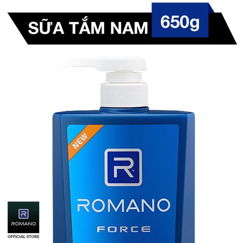 Sữa tắm Romano Force 650gr
