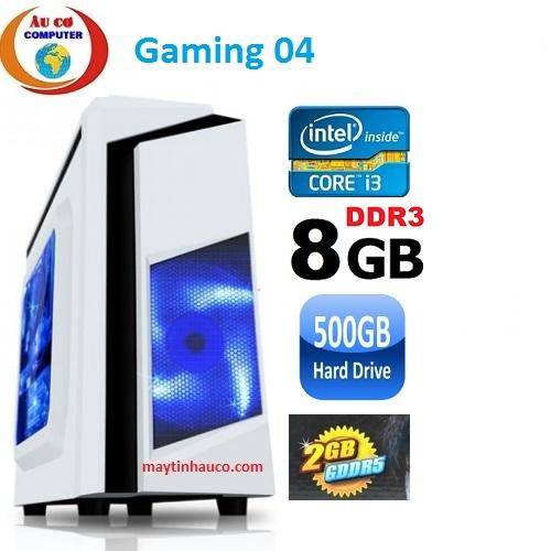 Hình ảnh Máy tính chơi game Gaming 04 core i3 2100 /8G / 500G / VGA 2G/DDR5 -Tặng Bàn Phím chuột Cơ , Tai Nghe có đén led 7 màu chuyên game