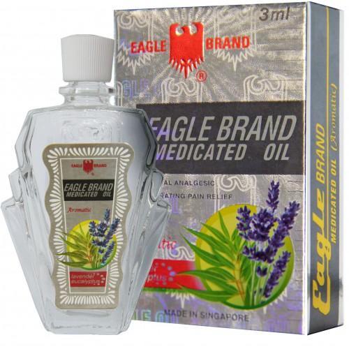 Bộ 5 dầu gió trắng Eagle Brand 24ml Mỹ (hương Lavender) nhập khẩu