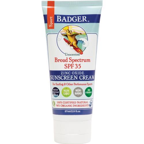 Kem chống nắng hữu cơ Badger Sport 87ml nhập khẩu