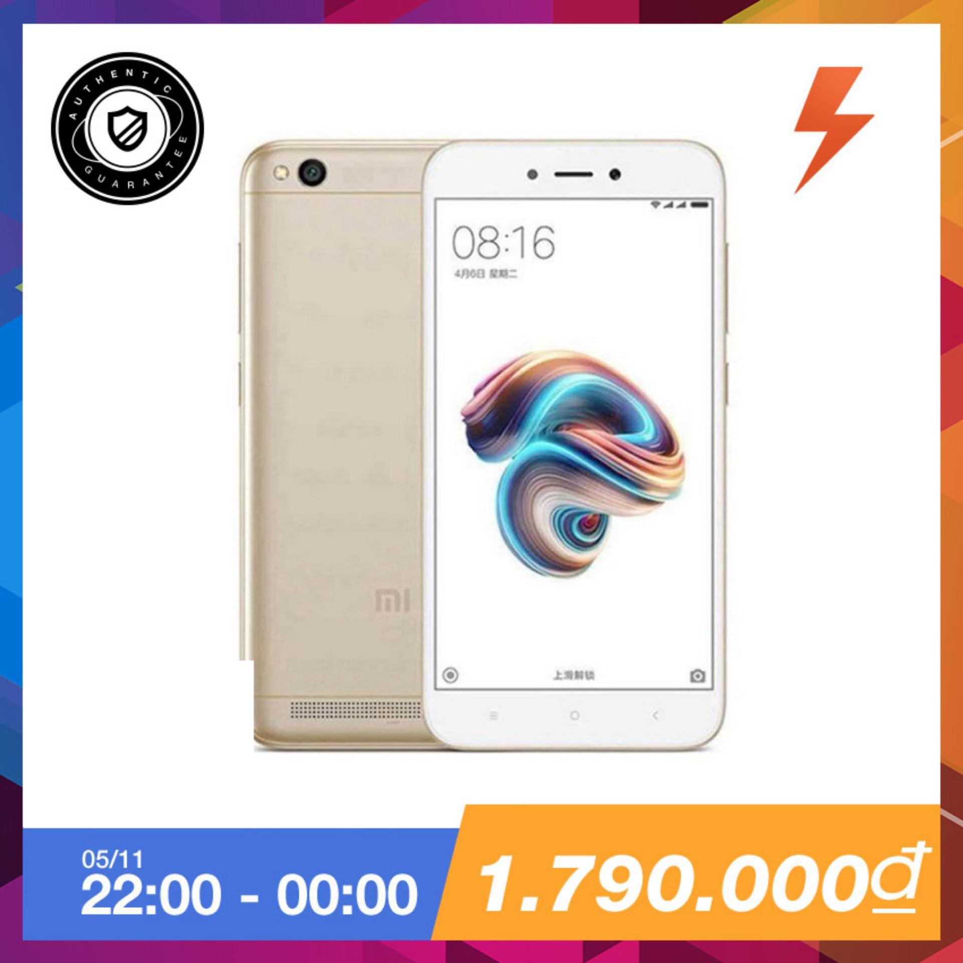 Xiaomi Redmi 5A 16Gb Ram 2Gb Vang Hang Phan Phối Chinh Thức Nguyên