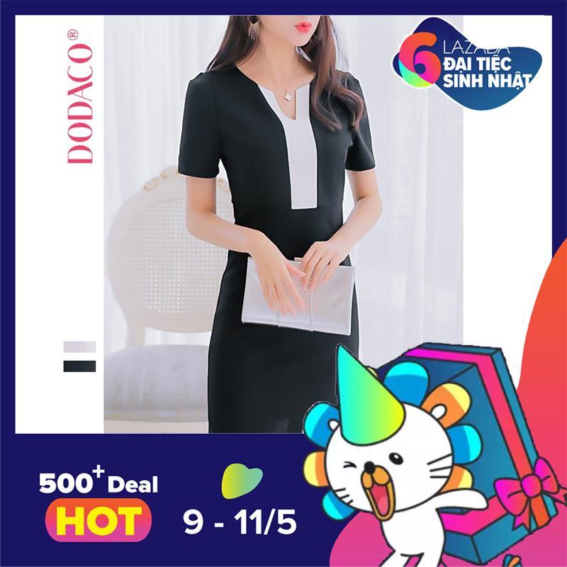 Bán Đầm Nữ Trang Phục Nữ Thời Trang Nữ Dodaco Ddc1899 049Rx Đen Hồ Chí Minh