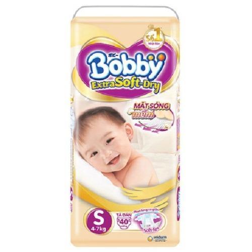 Bán Bỉm Dan Bobby Extra Soft Dry Cao Cấp Size S40 Miếng Cho Be 4 7Kg Rẻ Trong Việt Nam