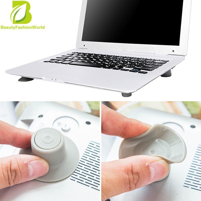 Hình ảnh BeautyFashionWorld Covinent Useful Pad Netbook Laptop Cooler Stand 4pcs/Set