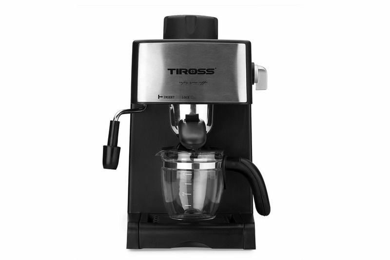 Máy pha cà phê Tiross-TS621( Đen) công suất 800W