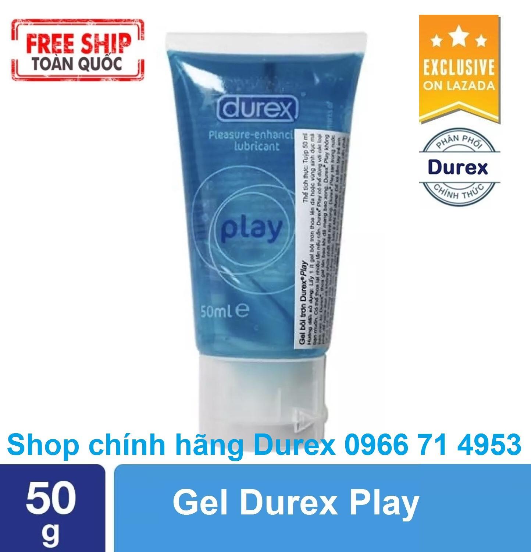 Hình ảnh [Free Ship] – Gel bôi trơn tăng khoái cảm Durex Play (Hộp 50ml) - [Được kiểm tra hàng trước khi nhận - Giao hàng che tên sản phẩm]