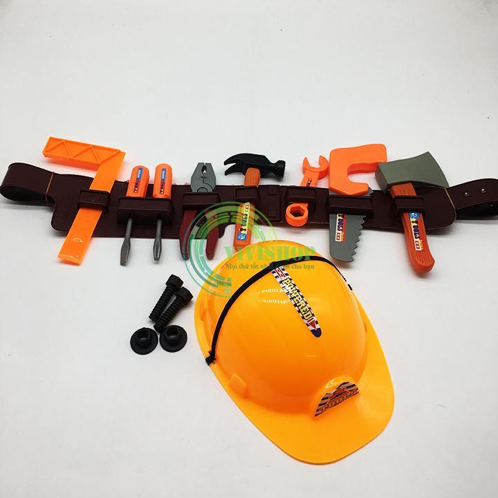 Hình ảnh Bộ dụng cụ đồ chơi công trình , nón