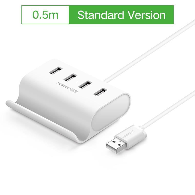 ... Ugreen USB HUB 4 Port High Speed USB 2 0 OTG Hub with Stand Power Interface