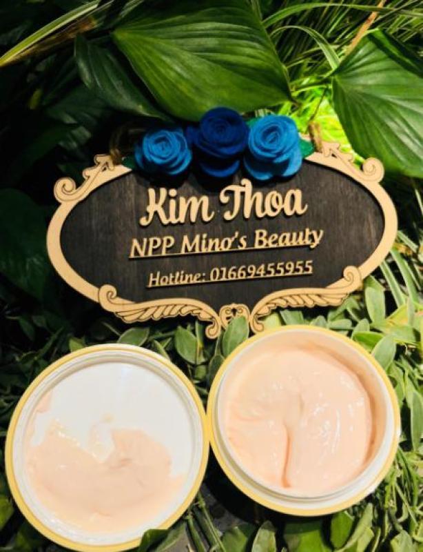 Kem cốt nở ngực Minơs Beauty ( Tặng kèm serum hồng nhủ hoa 30ml ) cao cấp