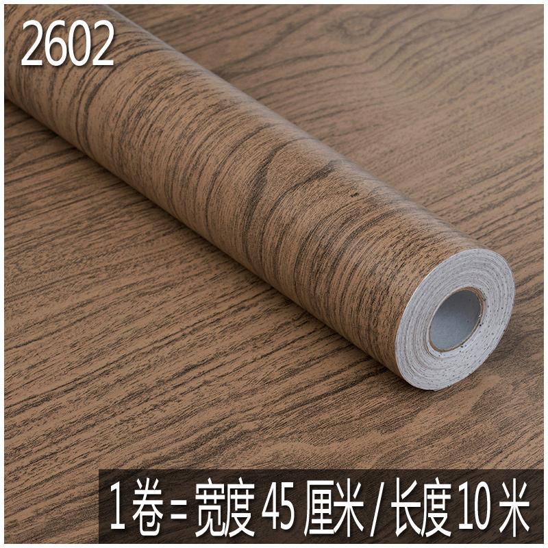 Waterproof Self-Adhesive Wallpaper Furniture Renovation Adhesive Paper Decoration Boeing Film Waterproof Kitchen Cabinet Wardrobe Door Wood Sticker