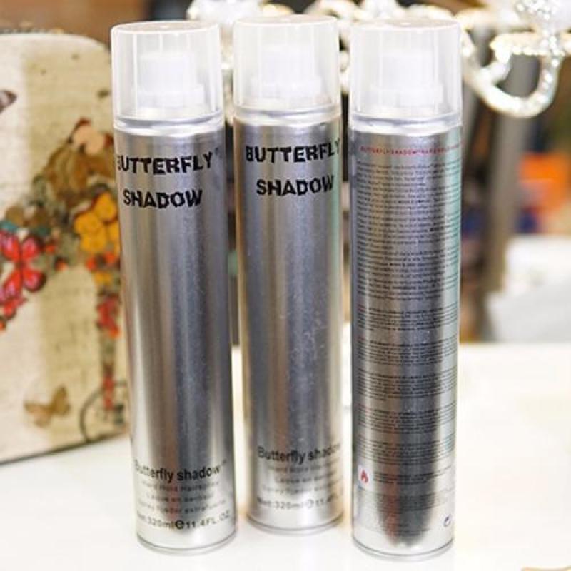 Gôm xịt tóc tạo kiểu tự nhiên Butterfly Shadow Hair Spray 320ml - Hàng nhập khẩu nhập khẩu