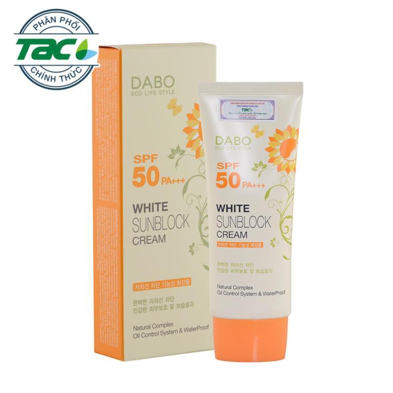 Kem chống nắng dưỡng trắng da DABO White Sunblock Cao Cấp - Chính hãng Hàn Quốc nhập khẩu