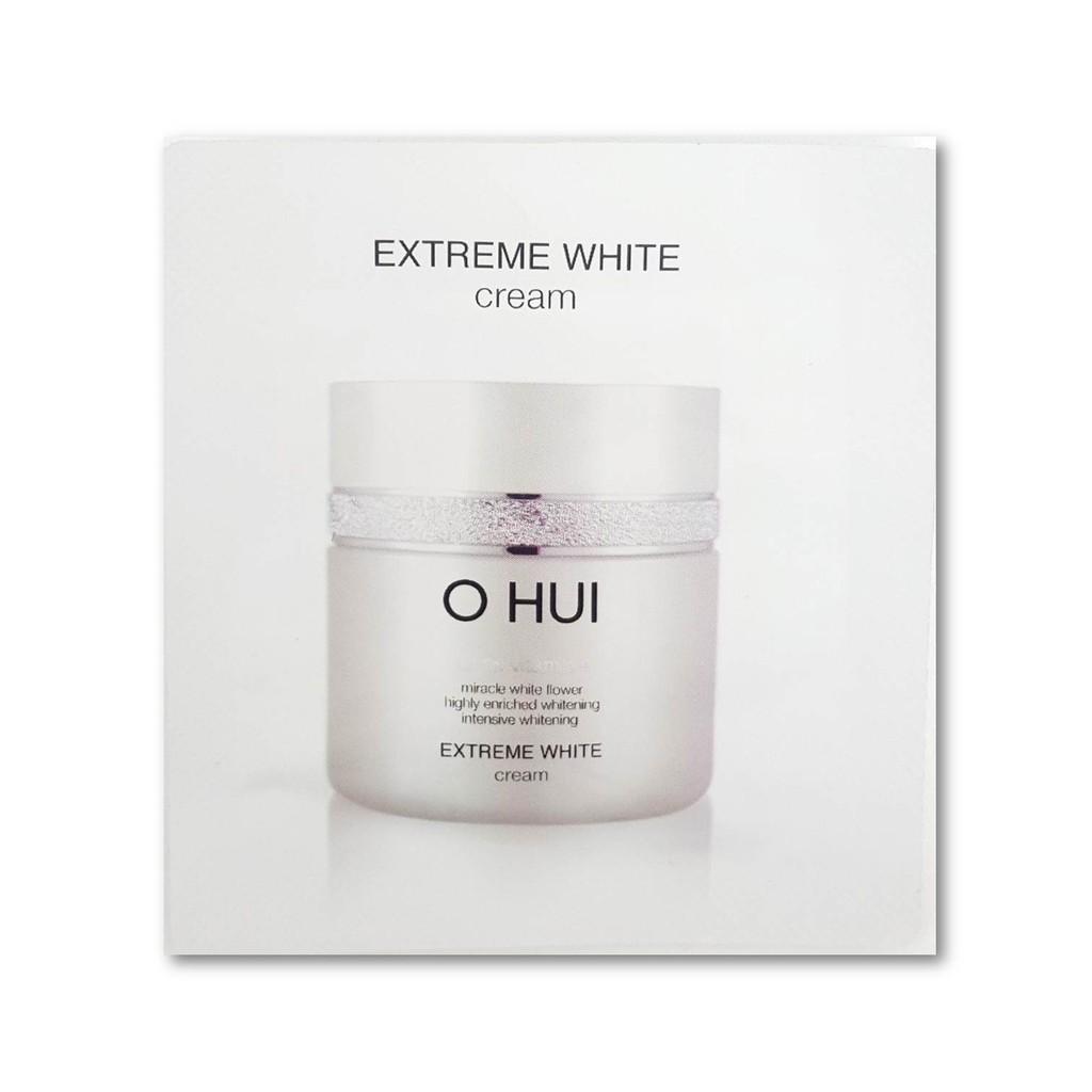 OHUI - Combo 10 gói kem dưỡng trắng, trị nám và ngăn ngừa lão hóa- OHUI Combo 10pcs Extreme White Snow Vitamin Cream