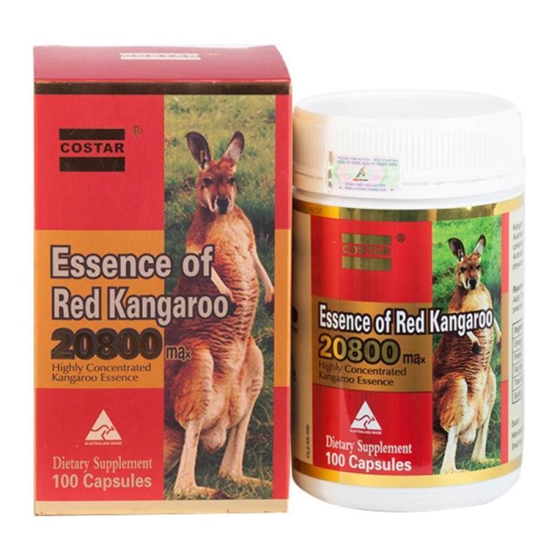 Viên uống tăng cường sinh lý nam Costar Kangaroo hộp 100 viên nhập khẩu