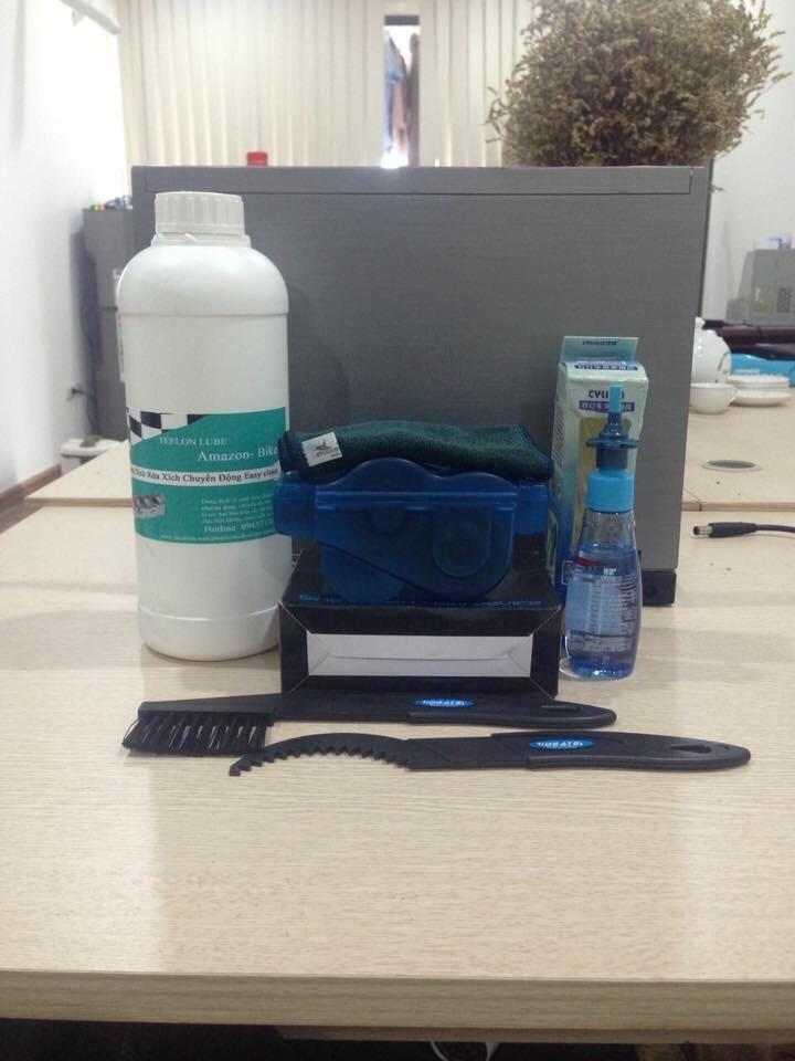 Bảo vệ và bảo dưỡng xích, rửa xích Xe đạp