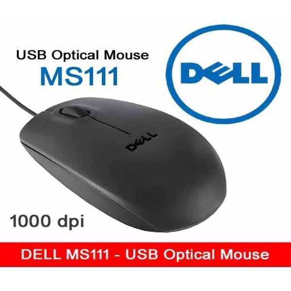 Hình ảnh Chuột Máy Tính Dell MS111 - Hàng Nhập Khẩu