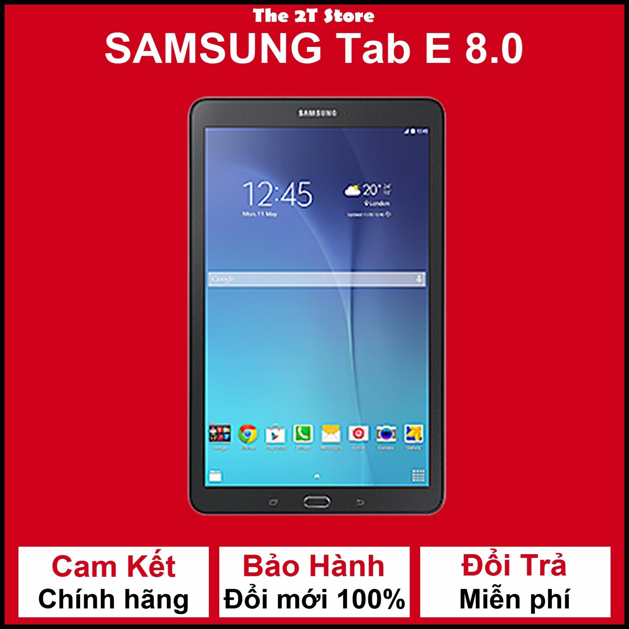 Bán May Tinh Bảng Samsungtab E 8 4G Wifi Mau Đen Hang Xach Tay Có Thương Hiệu Nguyên