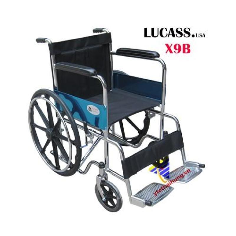 Xe lăn thường bánh đúc Lucass X9B nhập khẩu