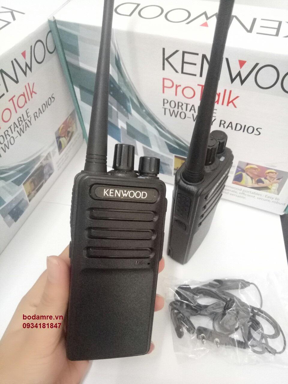 Hình ảnh Bộ 4 máy bộ đàm kenwood TK3520 tặng tai nghe